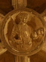 Detalle - Tejado - Dentro de la Iglesia de Abalos