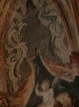 Pintura - El techo del Retablo - Iglesia de Abalos