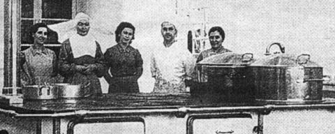 Hospital Santiago Apostól 1941